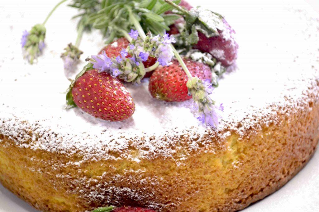 Hot Milk Sponge Cake