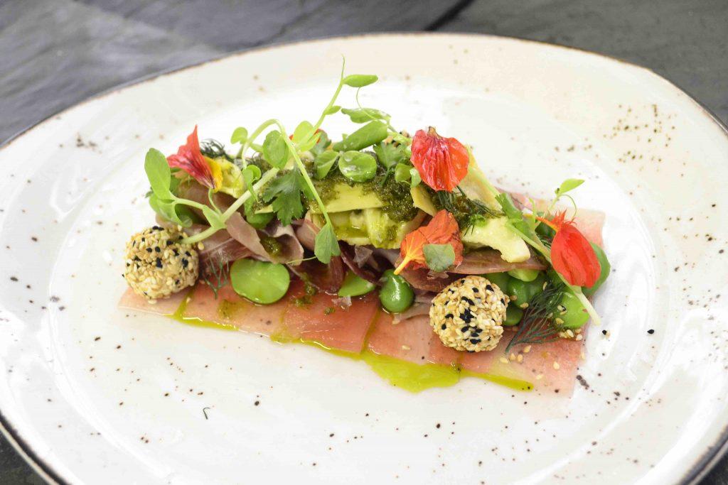 Watermelon, Prosciutto and Broad Bean Salad with Gremolata