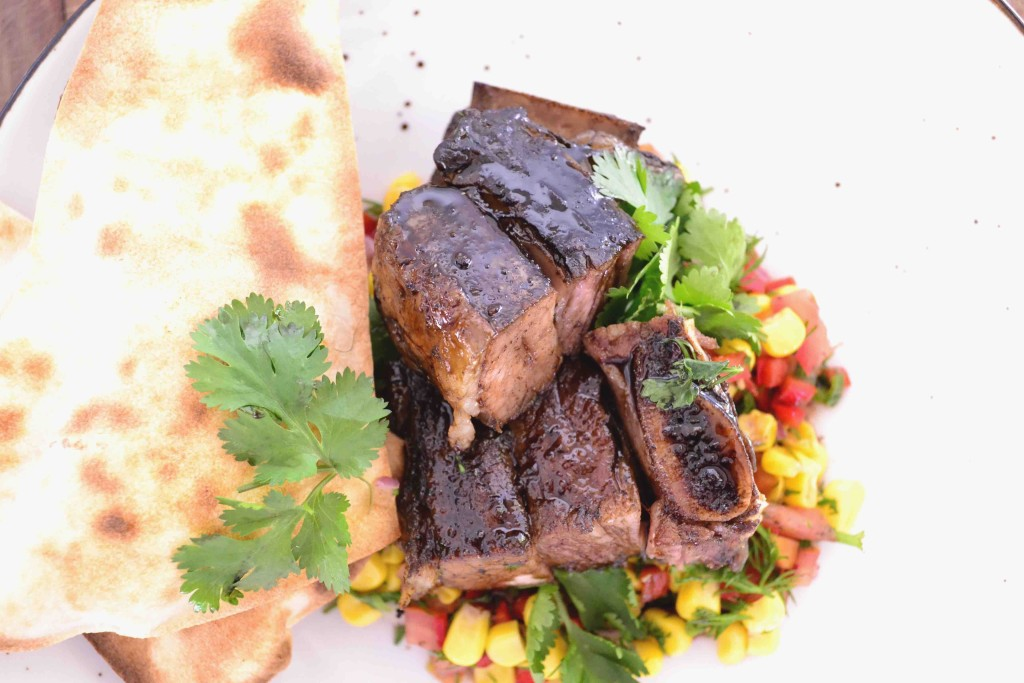 Sticky Soy Glazed Sous Vide Short Rib