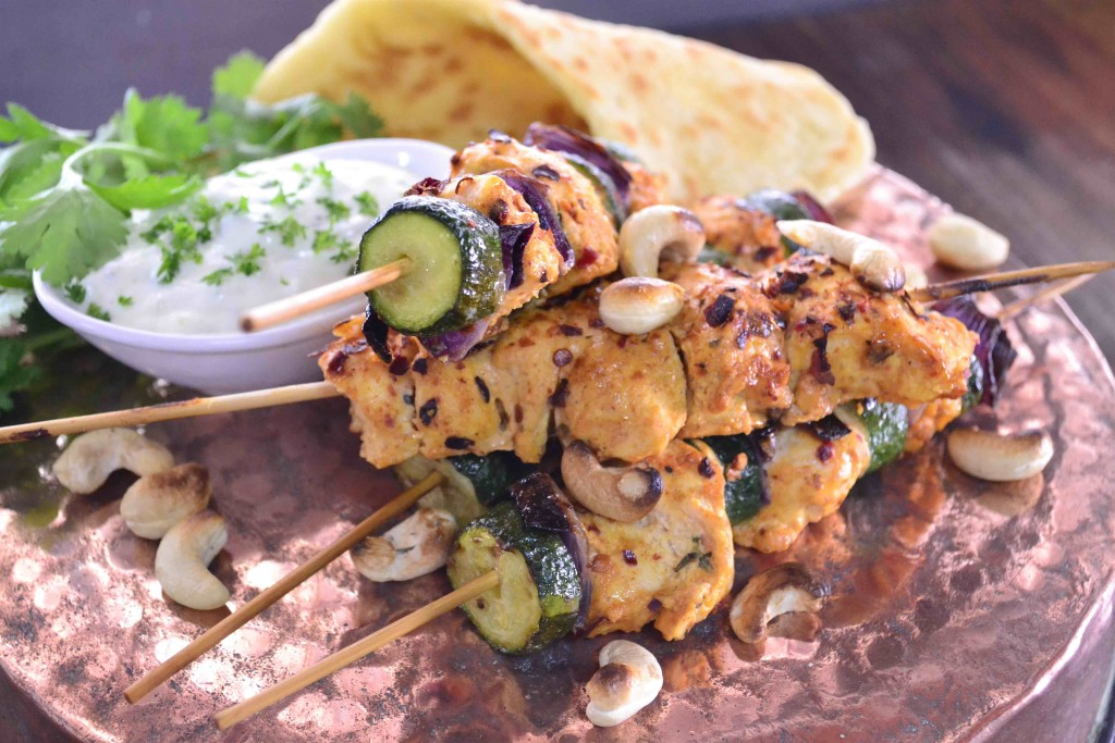 Kaylan's Tandoori Chicken Skewers