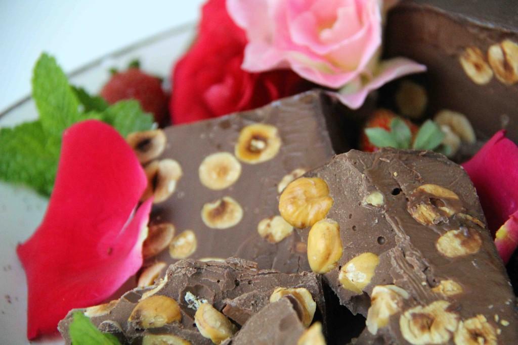 Valentines Day Chocolate Torrone